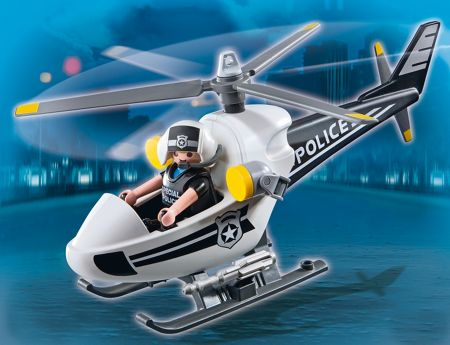 Playmobil City Action Police Helicopter 5916