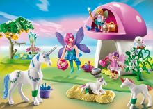 Playmobil Fairies with Toadstool House 6055