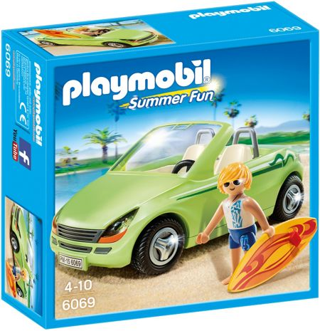 Playmobil Summer Fun Surfer with Convertible 6069