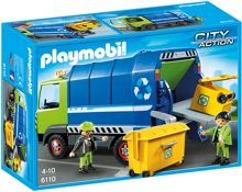 Playmobil City Action Recycling Truck 6110