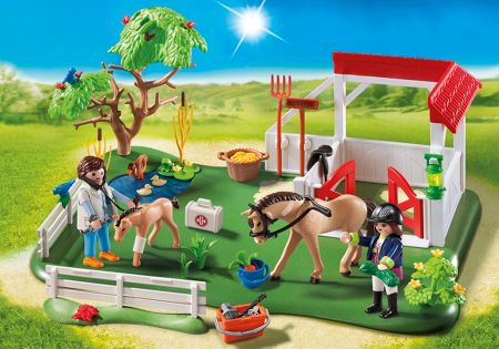 Playmobil Country Horse Paddock SuperSet 6147