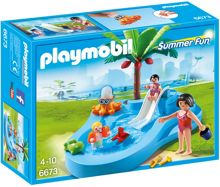 Playmobil Summer Fun Baby Pool with Slide 6673