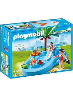 Summer Fun Baby Pool with Slide 6673