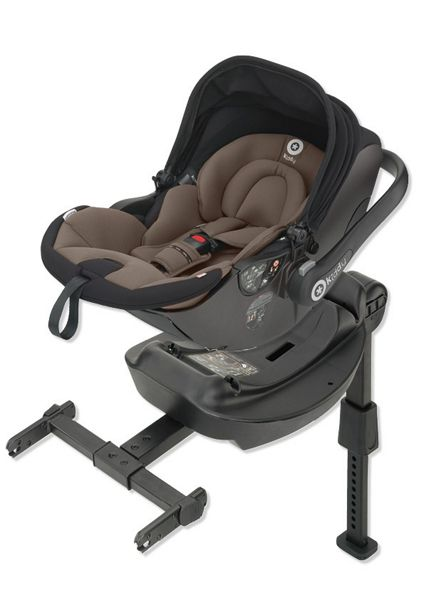 Kiddy evo-lunafix - walnut (with isofix base)
