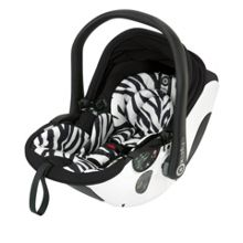 Kiddy evo-lunafix - zebra (with isofix base)