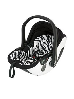 evo-lunafix - zebra (with isofix base)