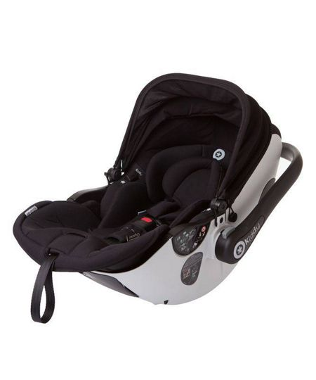 Egg Kiddy car seat grey base/black fabrics