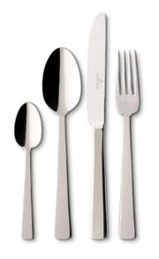 Notting hill stainless steel cutlery set