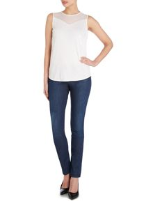 Nevila Power Stretch Straight Jeans