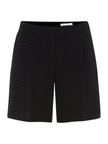 Tylina Texture Check Short Trouser