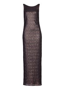 Vera Mont long sequin dress with fishtail