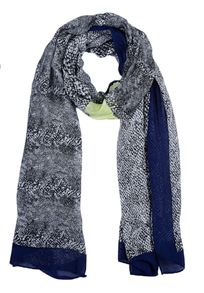 Long printed scarf