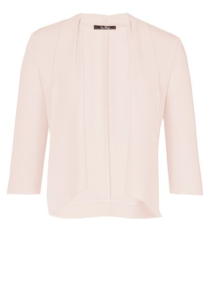 Vera Mont Crêpe jacket with waterfall front