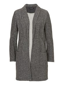 Unlined long line jacket