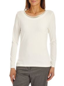 Betty Barclay T-shirt with bead embellishment