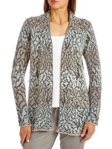 Betty Barclay Edge to edge patterned cardigan