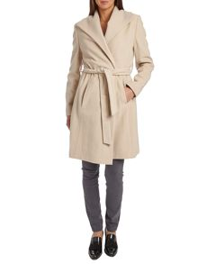 Belted duster coat