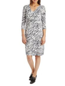 Betty Barclay Snake print jersey dress