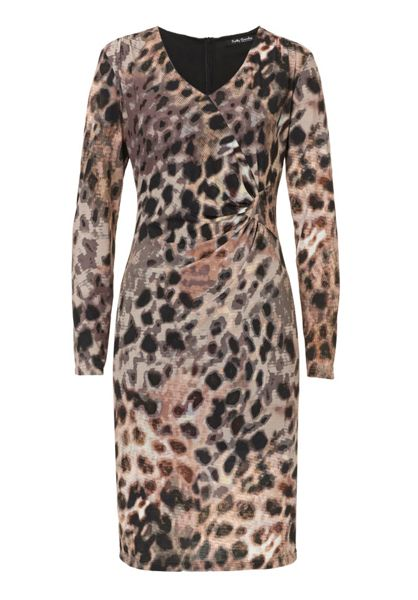 Betty Barclay Printed V-neck dress