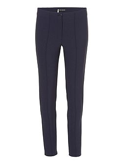 Tailored stretch crepe trousers