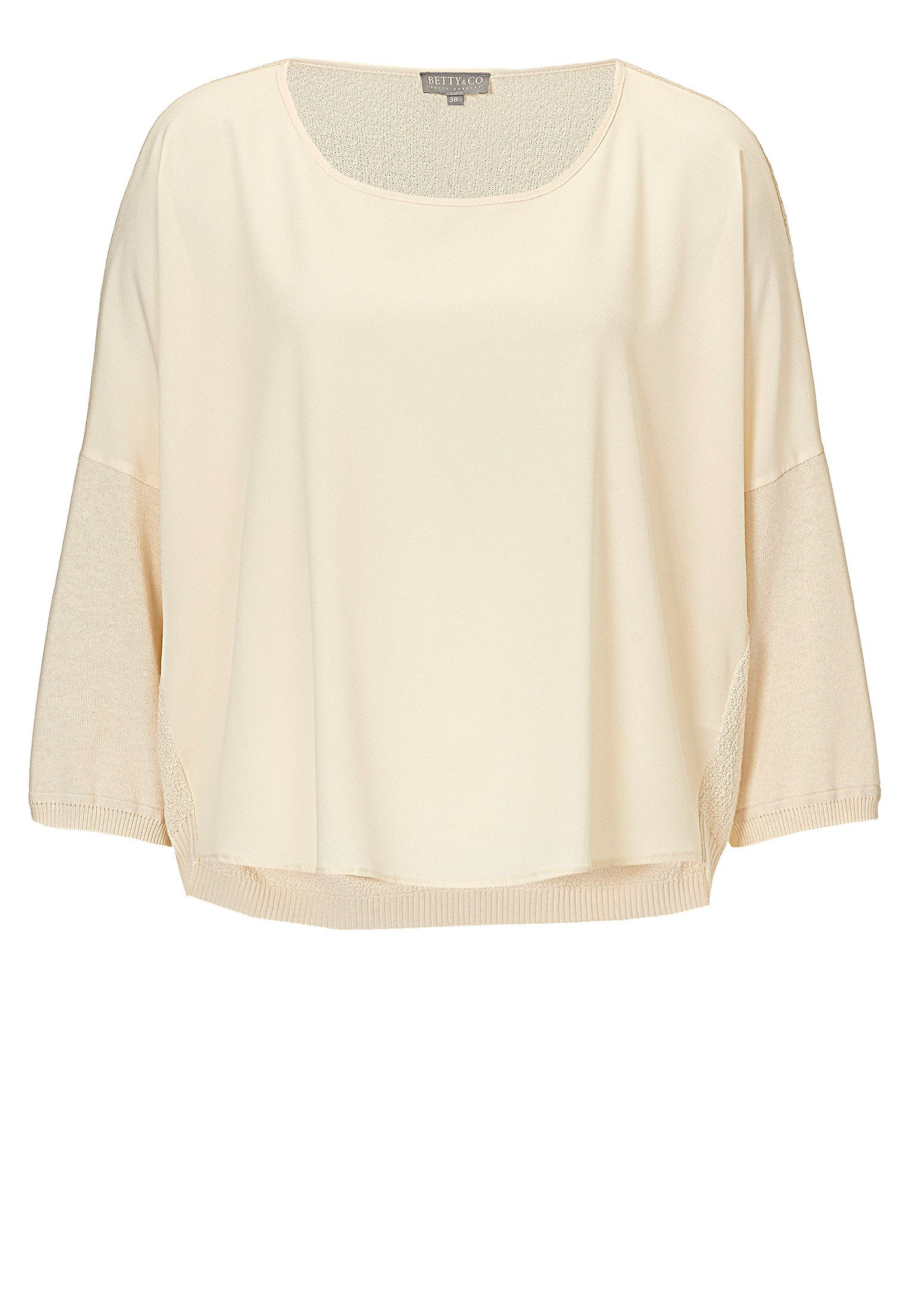 Betty & Co. Oversized top, Cream