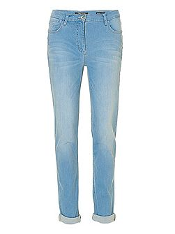 Perfect Body five-pocket stretch jean