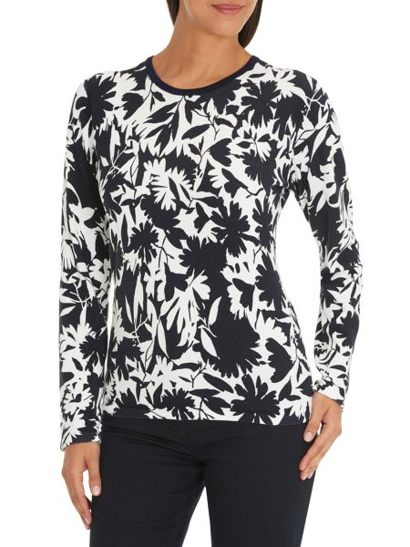 Betty Barclay Floral print knit top