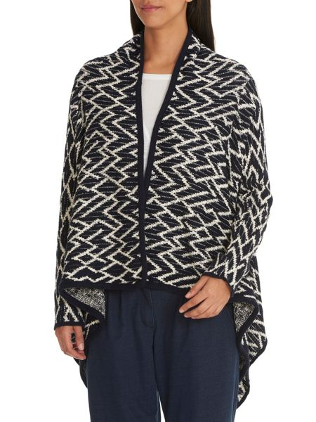 Betty & Co. Graphic knit cardigan