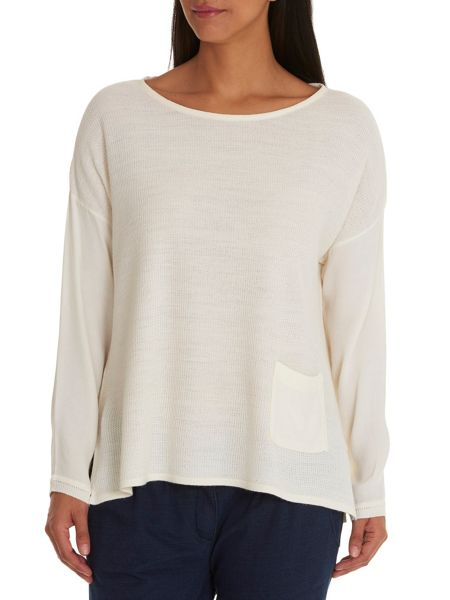 Betty & Co. Long sleeved top with pocket