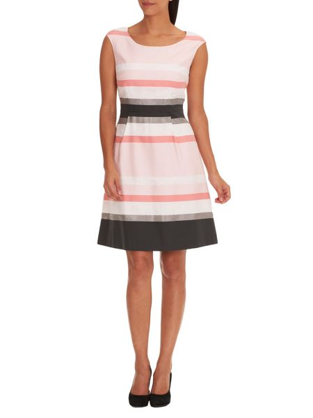Vera Mont Striped shift dress