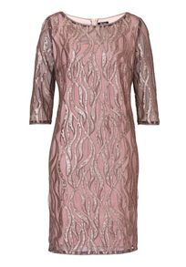 Vera Mont Sequin and net dress