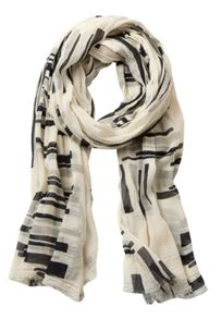 Betty & Co. Transparent printed scarf