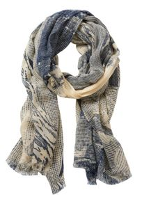Betty & Co. Abstract printed scarf