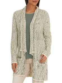 Betty & Co. Long Wrap Cardigan