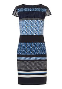 Betty Barclay Cap sleeve printed dress