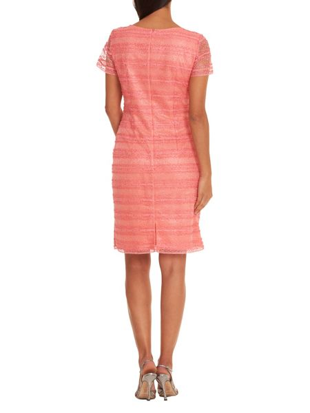 Vera Mont Stitched mesh dress