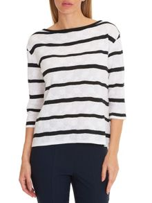 Betty Barclay Striped oversized top