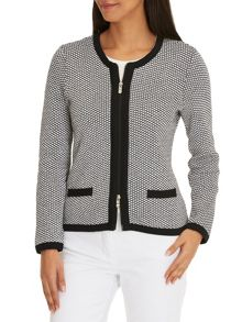 Betty Barclay Graphic knit cardigan
