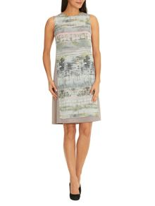 Betty Barclay Sleeveless dress with print panel
