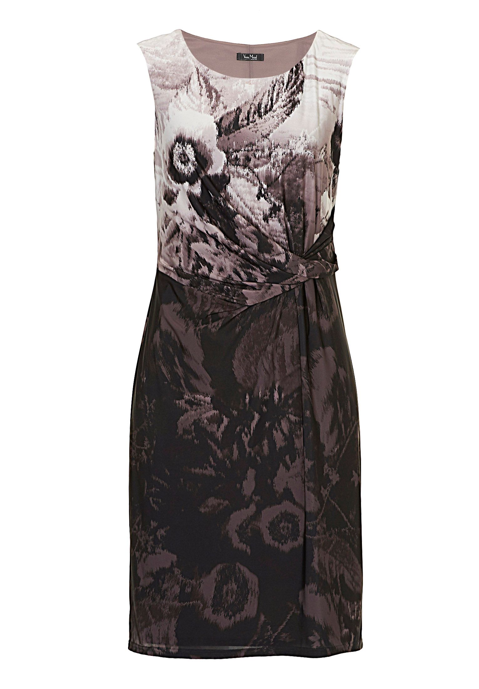 Vera Mont Printed sleeveless dress, Multi-Coloured