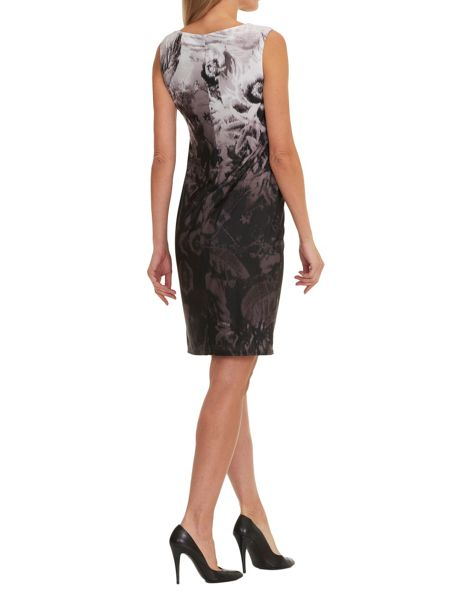 Vera Mont Printed sleeveless dress