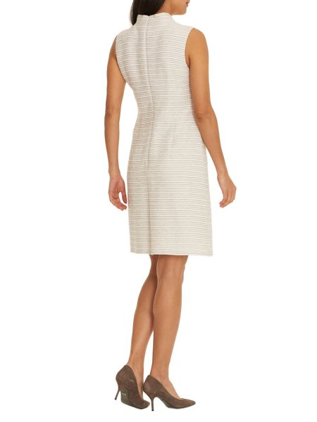 Betty Barclay Textured funnel neck dress