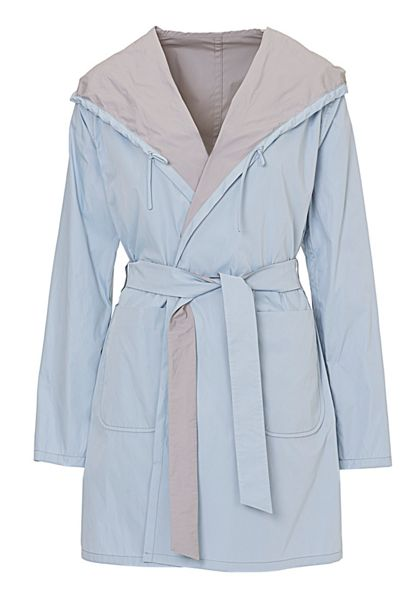 Betty Barclay Reversible mac with hood