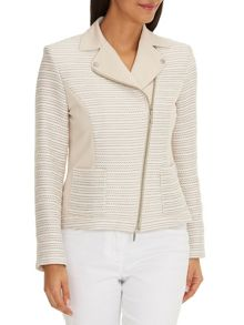 Betty Barclay Tailored biker style jacket
