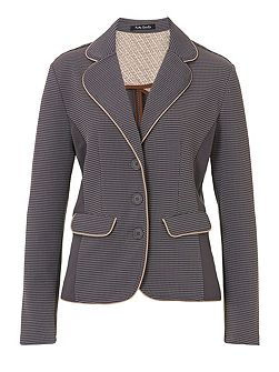Panelled unlined jacket
