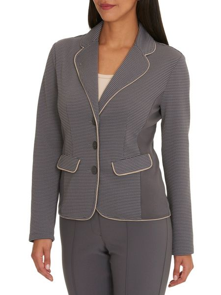Betty Barclay Panelled unlined jacket