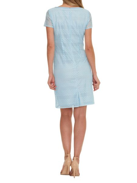 Vera Mont Lace dress with cap sleeves
