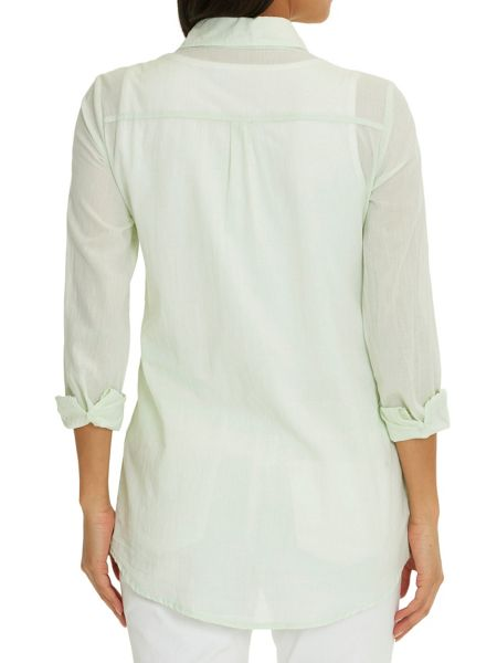 Betty Barclay Long cotton blouse