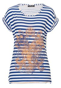 Betty Barclay Striped top with front motif