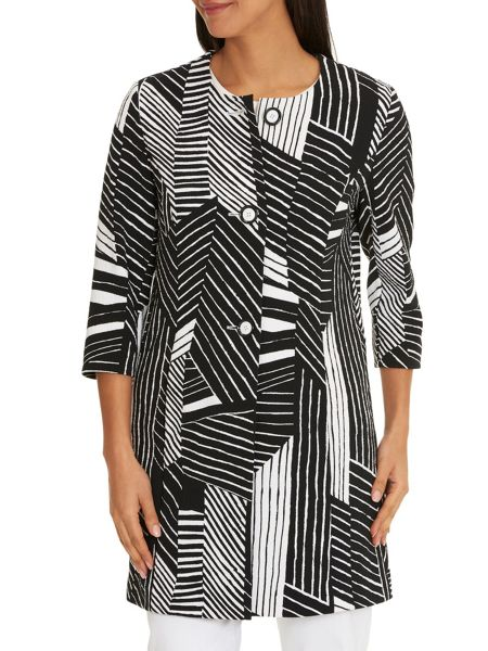 Betty Barclay Graphic print long jacket